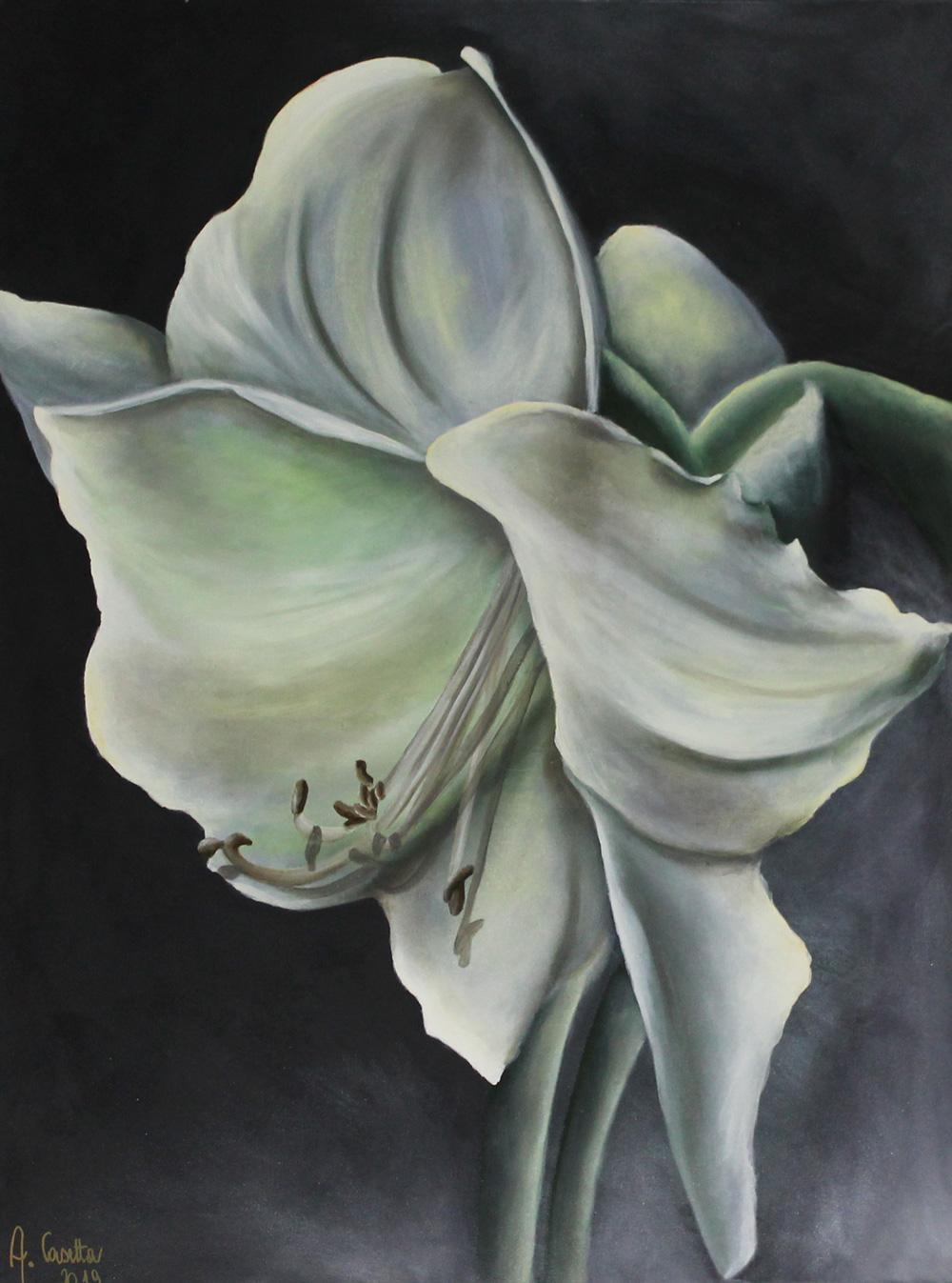 Alessandra Casetta Vita Mia Olio su Tela 60x90 cm