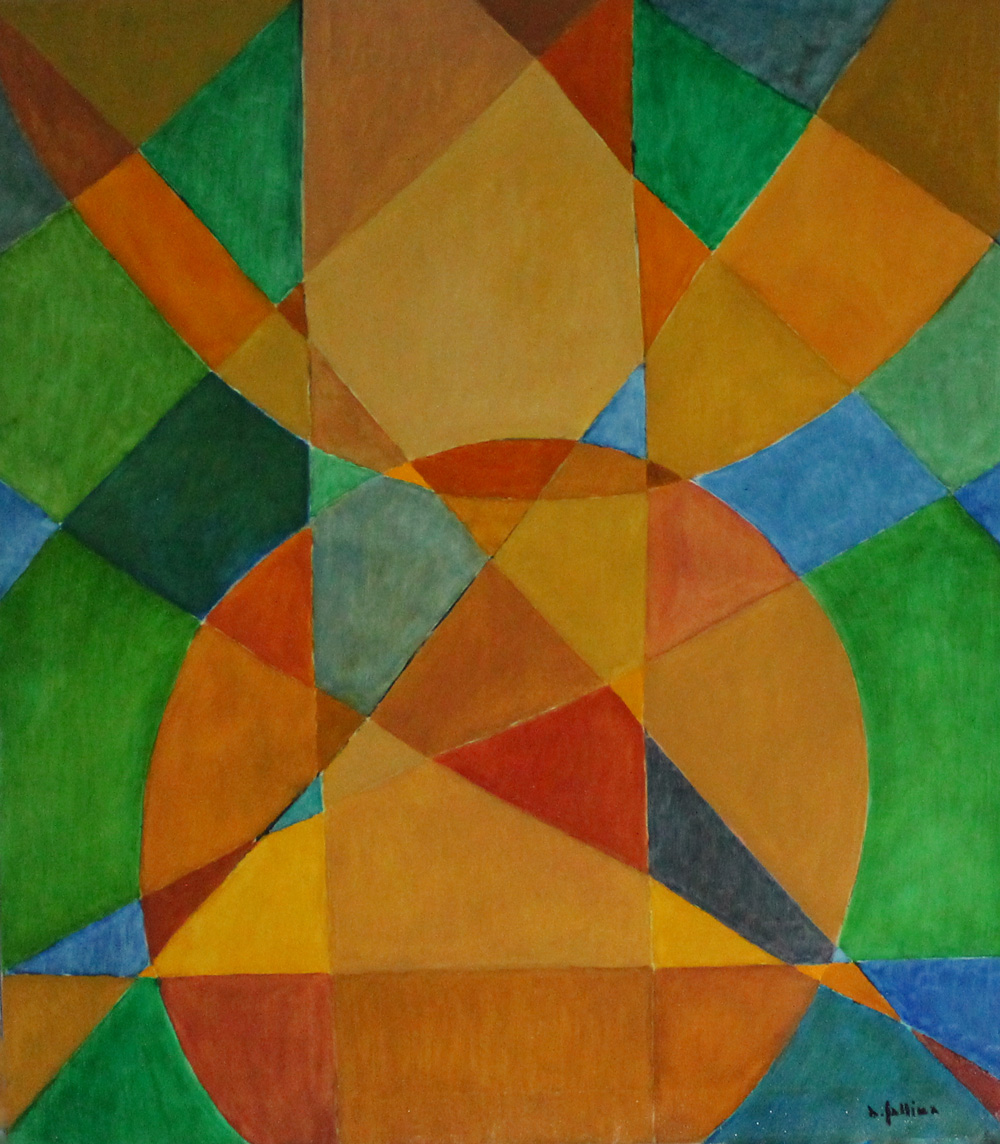 Antonio Gallina Senza Titolo Acrilico su tela 70x80 cm