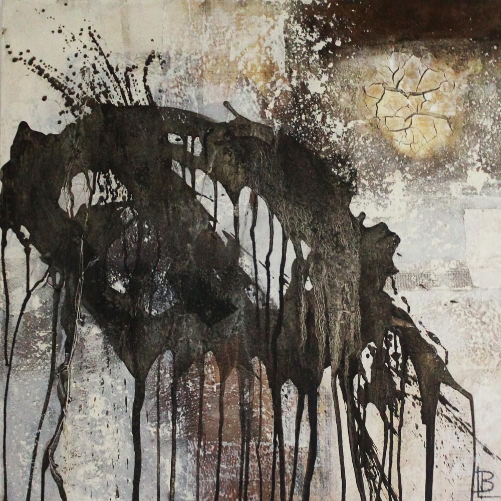 Lara Bischoff Ingrosso Millepiedi Tecnica mista 70x70 cm