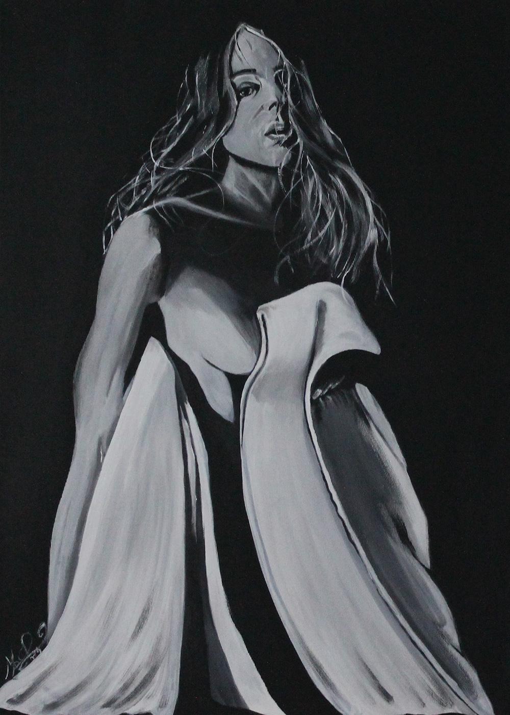 Marco Orecchioni Essenziale Acrilico su tela 50x70 cm
