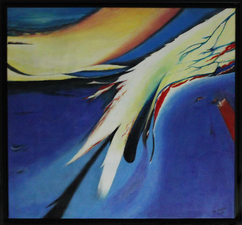 Mario De Nardi Soffio nel sole Acrilico su tela 85x80 cm