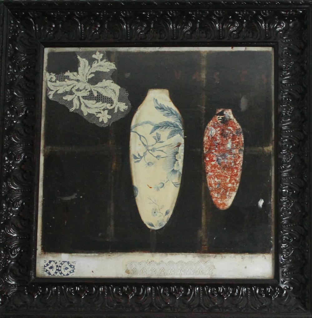 Melissa Damson The sacred vase 2 Tecnica mista 80x80 cm