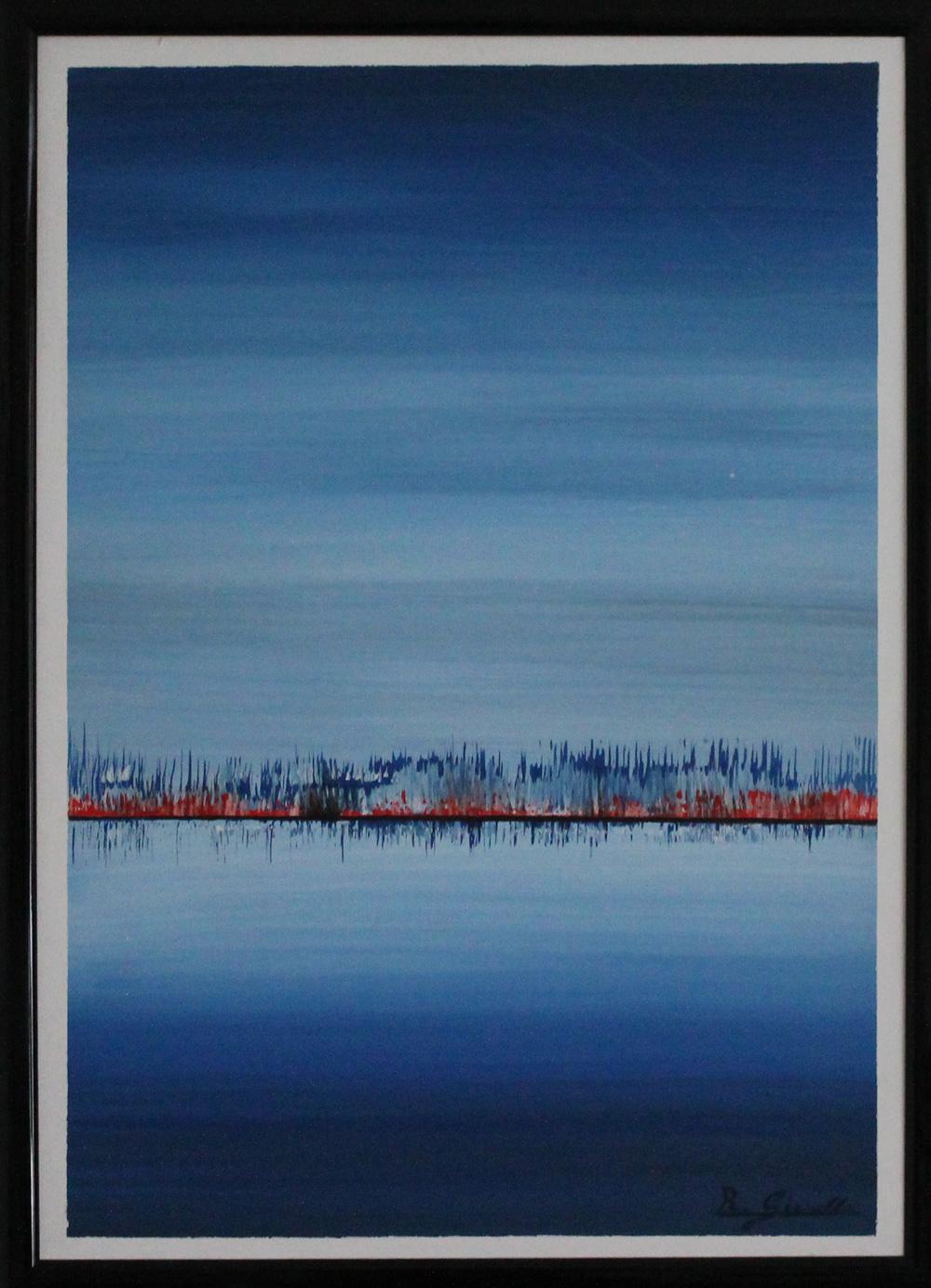 Renzo Gianella Vibrazioni cromatiche 2 Acrilico su tela 50x70 cm